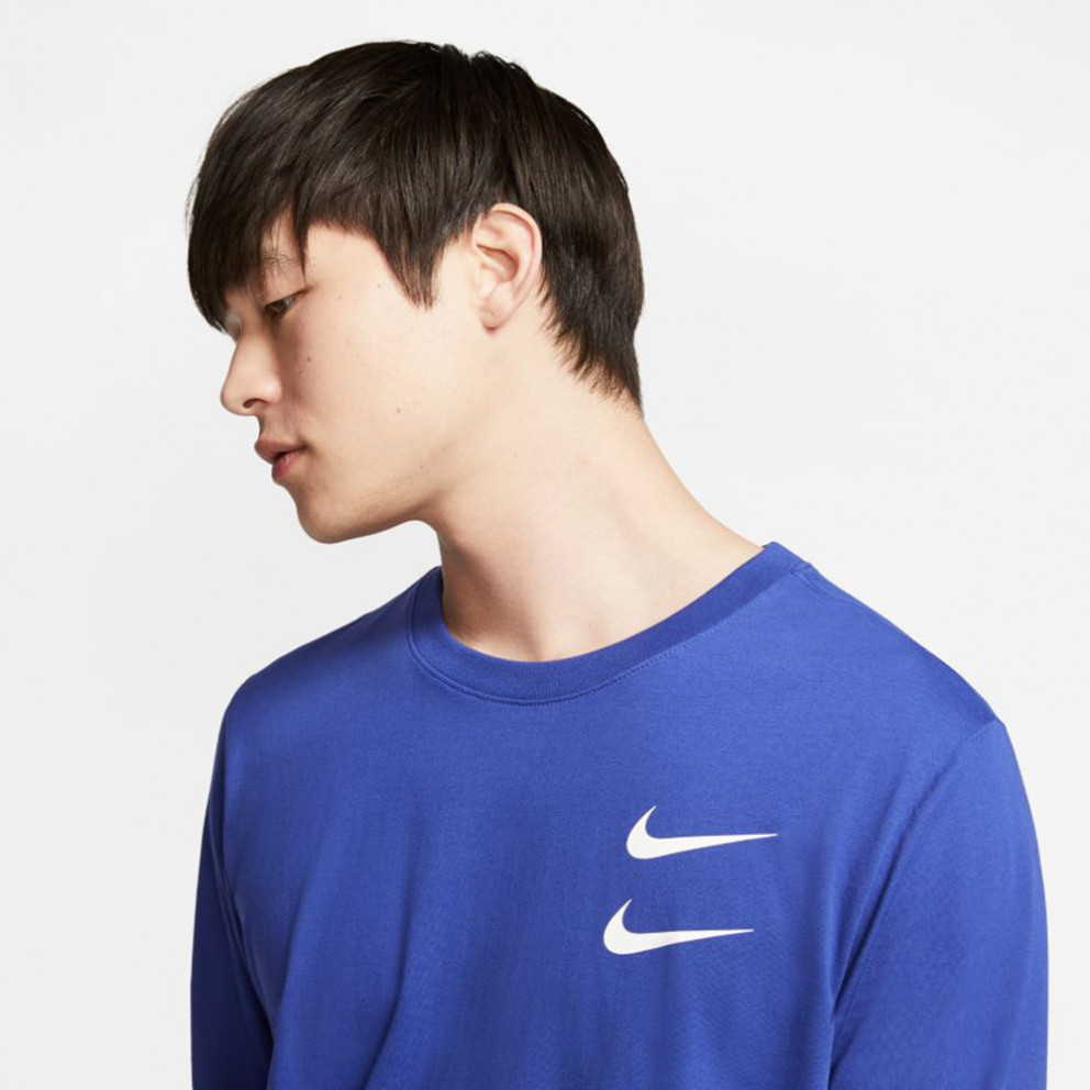 Nike Sportswear Swoosh Men's Long-SLeeve T-Shirt