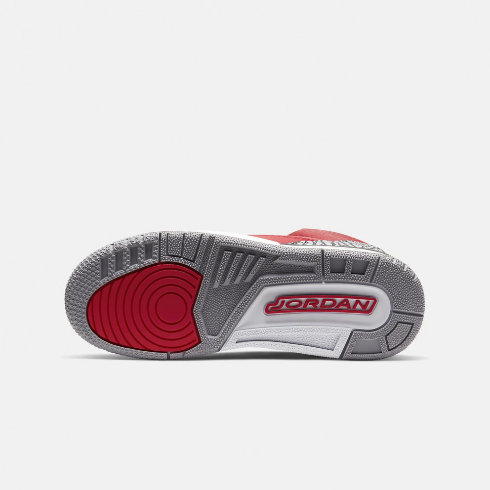 "Jordan Air 3 Retro ""Red Cement"" Kids' Shoes"