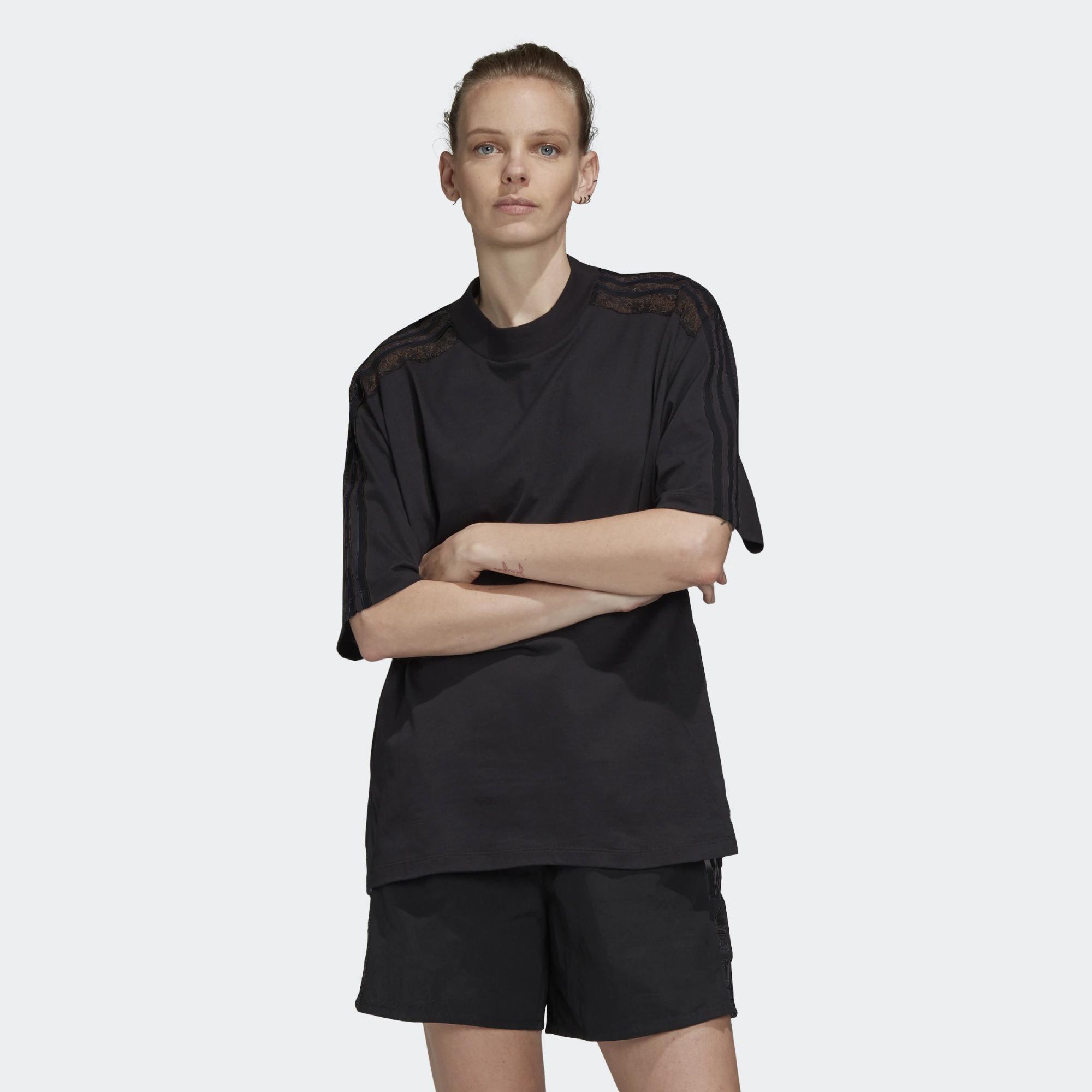 adidas Original Lace Back Women's T-shirt (9000045428_1469)