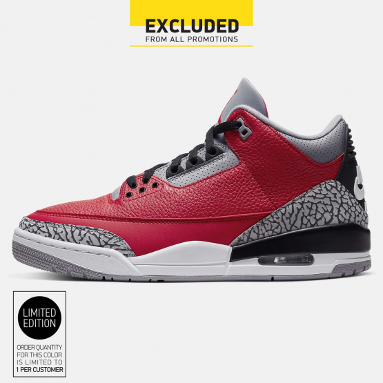 "Jordan Air 3 Retro ""Red Cement"" Men's Shoes"