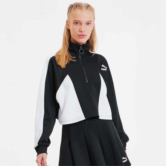 Puma Tailored For Sport Cropped Half Zip Women's Jacket