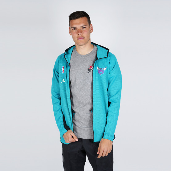 Nike Charlotte Hornets Jordan Therma Flex Showtime Men's NBA Hoodie