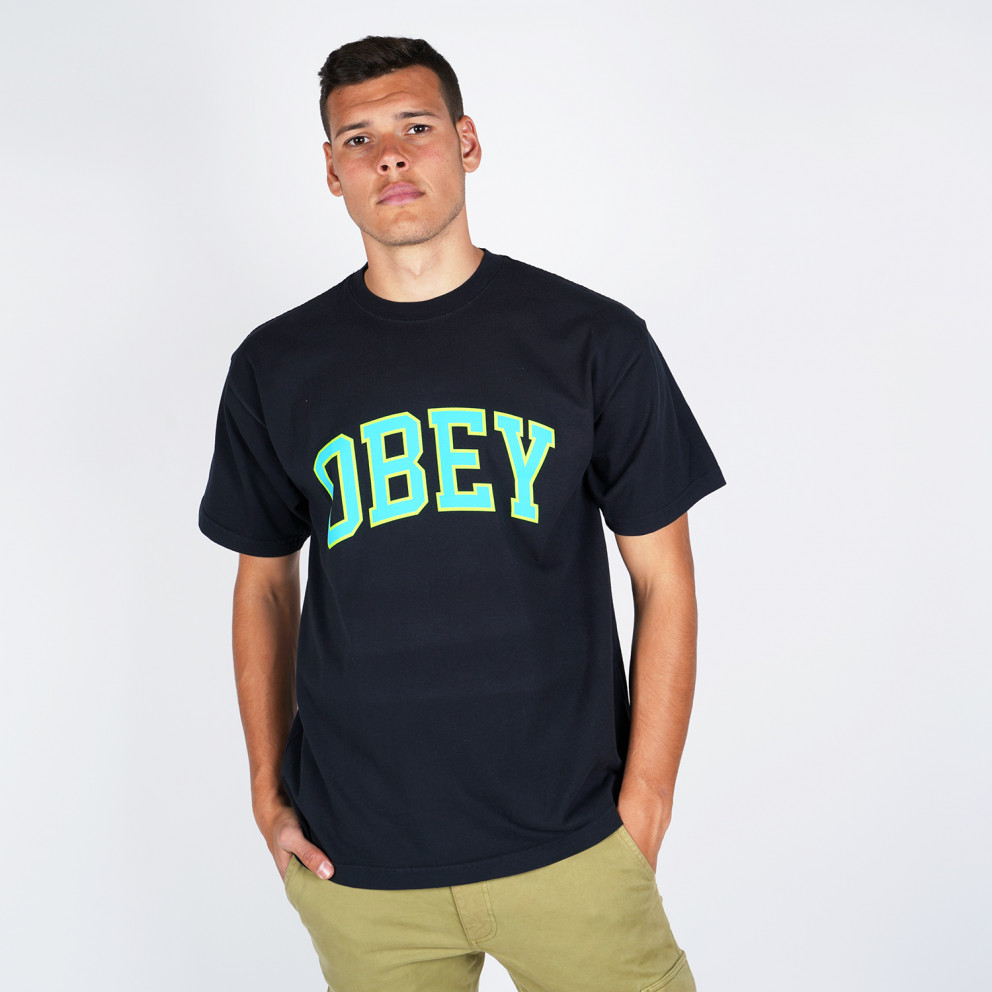 Obey Academic 3 Heavyweight Classic Men's Tee