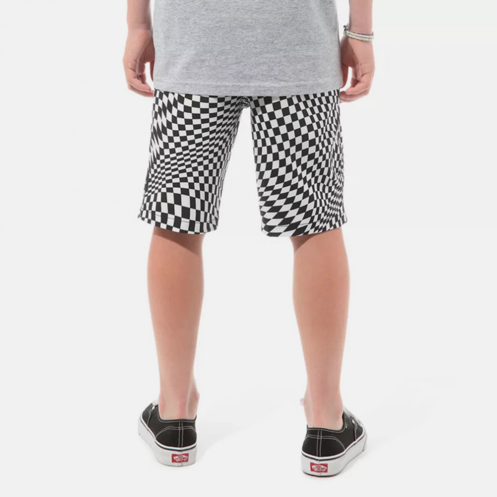 Vans Kids By Pixelated Boardsh Black