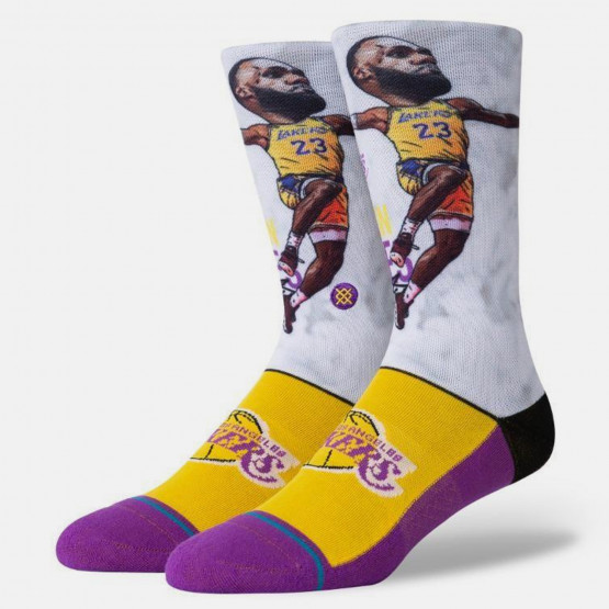 Stance LeBron James Big Head Men's Socks