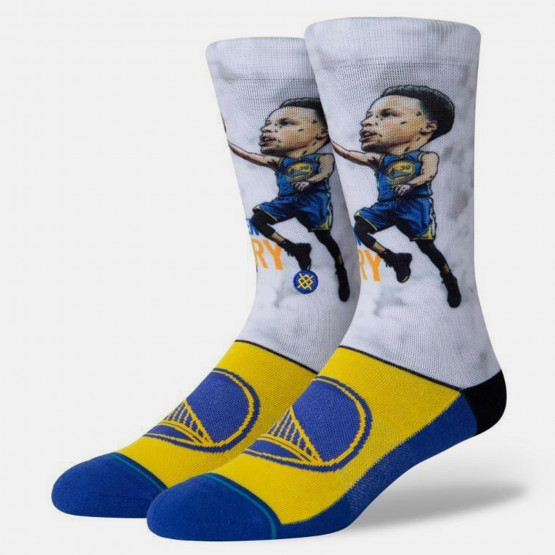 Stance Stephen Curry Big Head Men's Socks