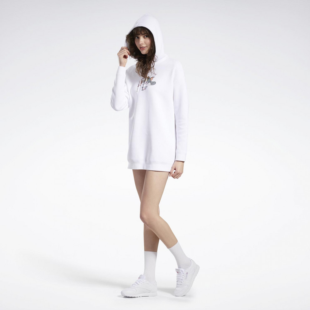 Reebok Classics Women's Tom And Jerry Hooded Dress