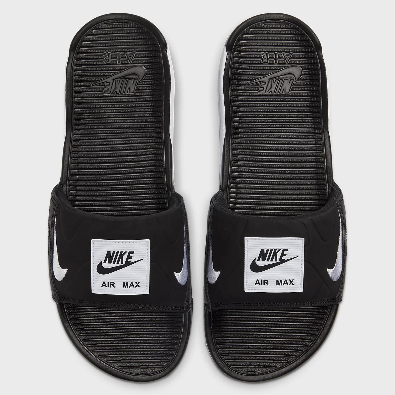 Nike AIR MAX 90 SLIDE BLACK/WHITE BQ4635-002