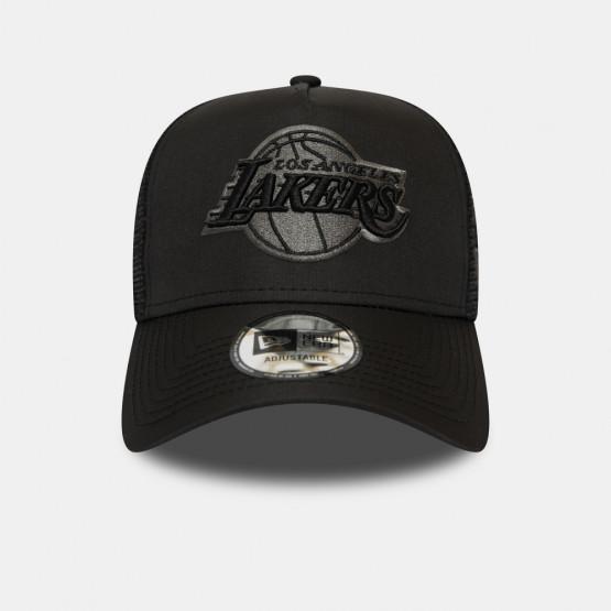 New Era Tonal Black AF Trucker Lakers