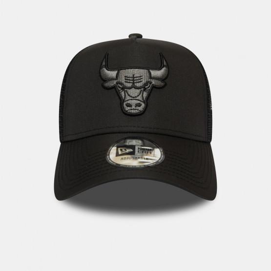 New Era Tonal Black AF Trucker Bulls