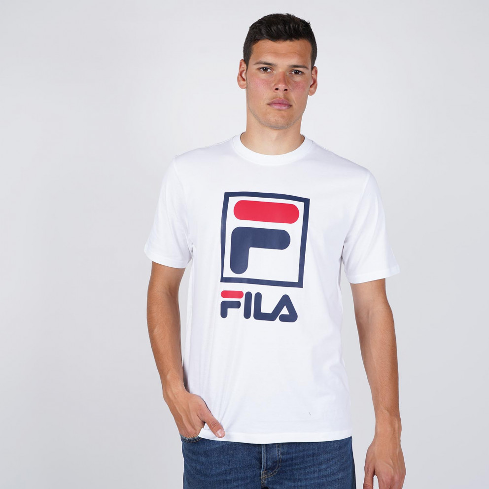 Fila Heritage Stacked Logo Men's Tee