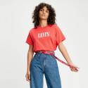 Levis Women's 90's Serif Logo Varsity Tee Shirt