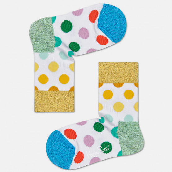 Happy Socks Pride Big Dot Kids' Socks