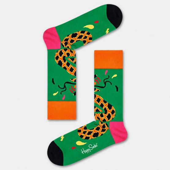 Happy Socks Tropical Snake Unisex Socks