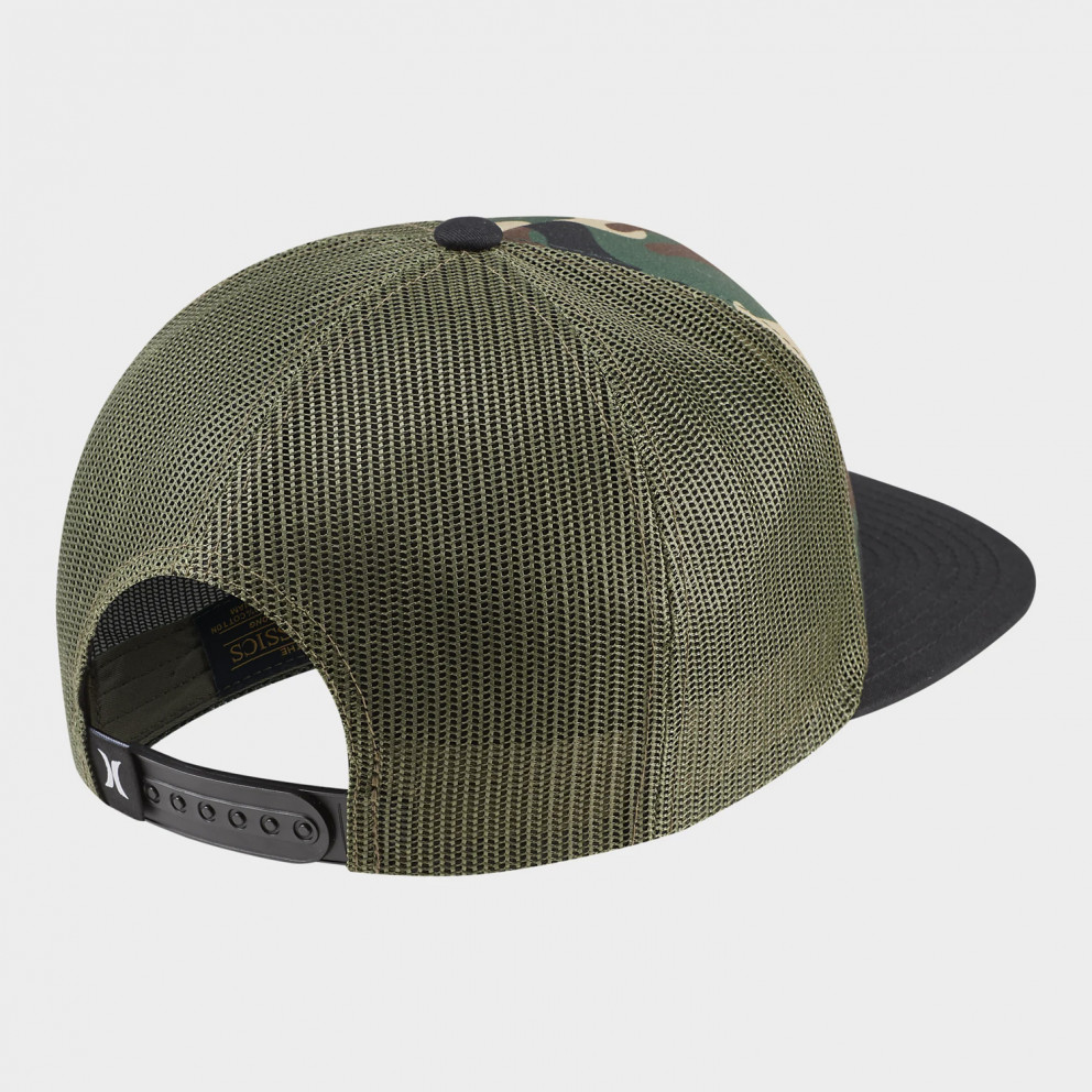 Hurley Men's Printed Square Trucker