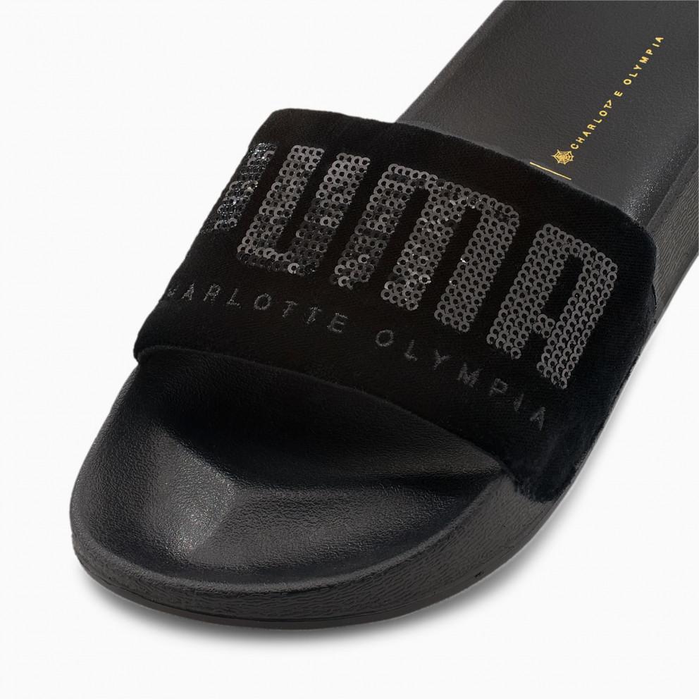 Puma X Charlotte Olympia Ftr Women's Leadcat Sandals