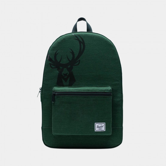 Herschel Packable Nba Milwaukee Bucks Daypack