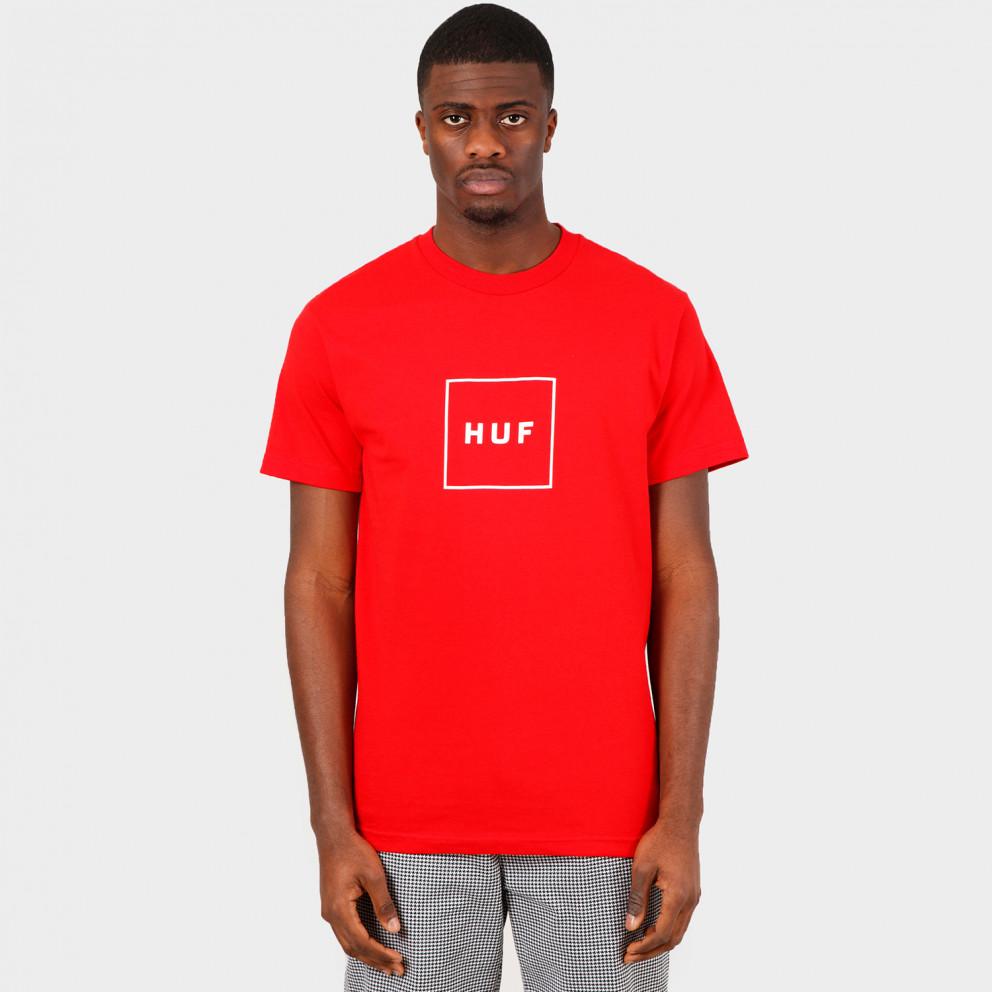 Huf Essential Box Logo Ανδρικό T-shirt