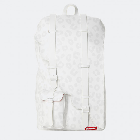 Sprayground Massive Wing White Leopard Backpack