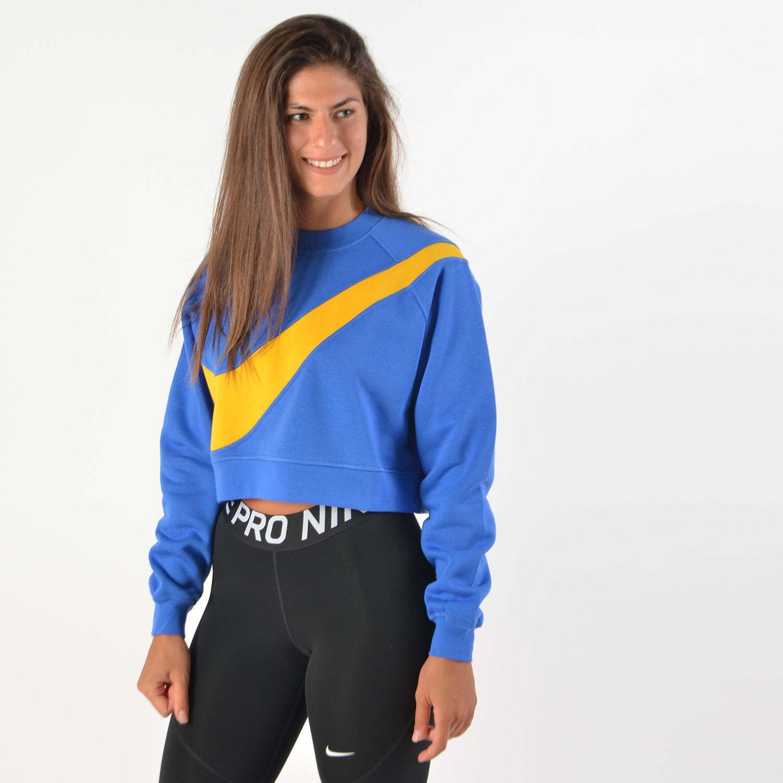 Nike Sportswear Swoosh Women's FLeece Crop Top (9000035384_40691)