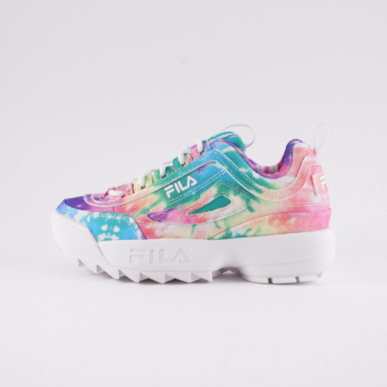 Fila Heritage Disruptor II Tie Dye Kids' Shoes