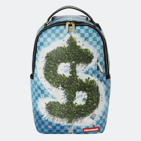 Sprayground Money Island Checkered Backpack