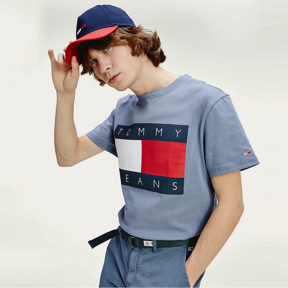 Tommy Jeans Men's Flag Tee