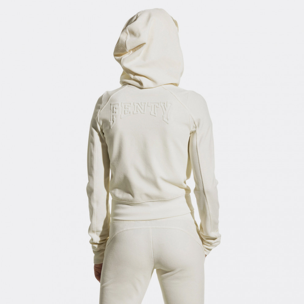 Puma Fenty VELOUR FITTED ZIP-UP
