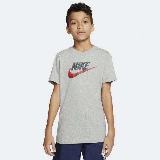 Nike Sportswear Boys' Tee Faux Embroidery