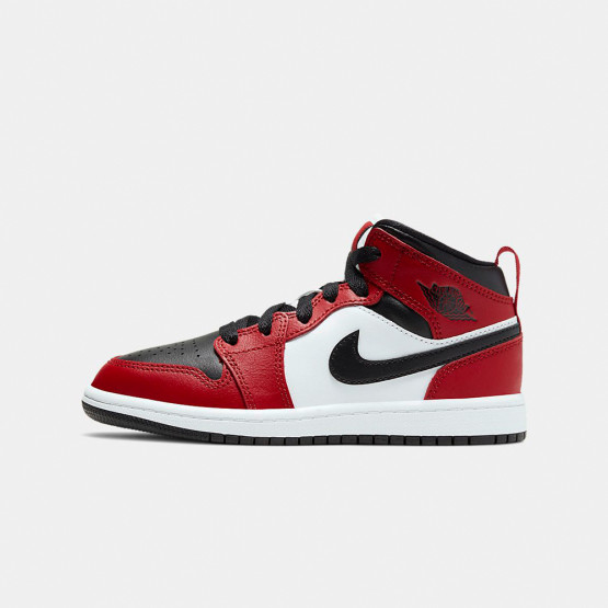 Jordan Air 1 Mid Ps Kids Shoes