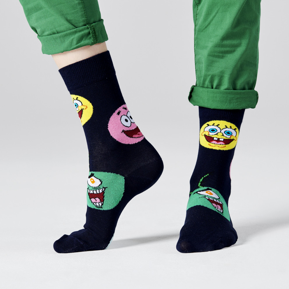Happy Socks Sponge Bob Circle Of Friends Sock