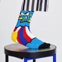 Happy Socks Super Dad Sock
