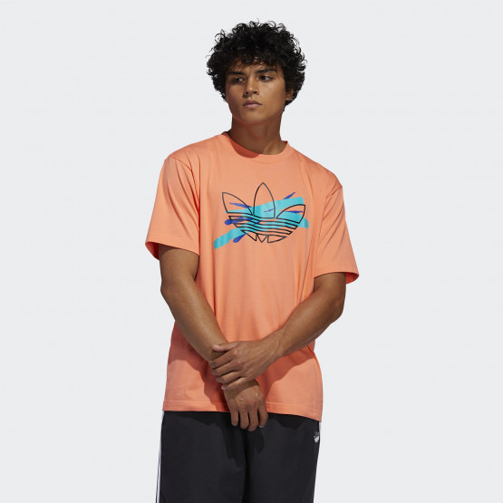 adidas Originals Men's Paintbrush Trefoil Tee