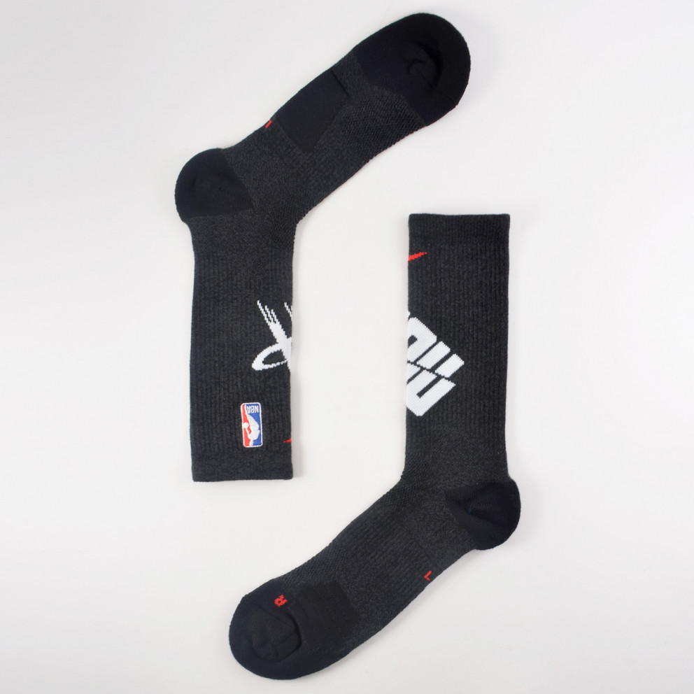 Nike Houston Rockets Elite Nba Crew Socks