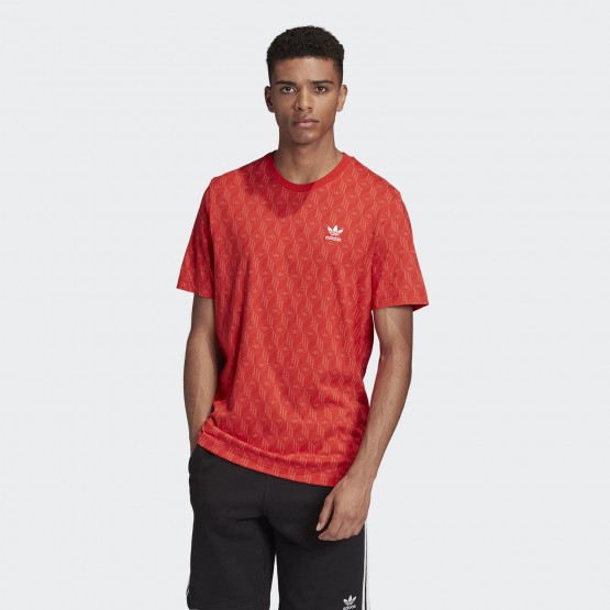 adidas Originals Men's Mono Allover Print Tee