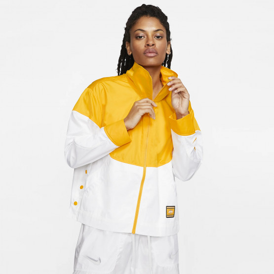 "Nike Women's Lakers Courtside "" City Edition "" Jacket"