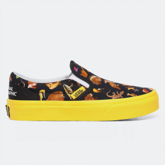Vans x National Geographic Jn Classic Slip-On Γυναικείο Παπούτσι
