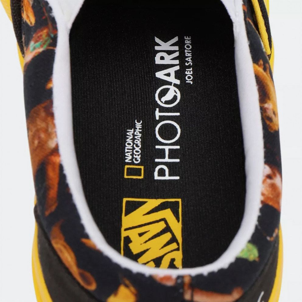 Vans x National Geographic Uy Classic Slip-On Kid Shoe
