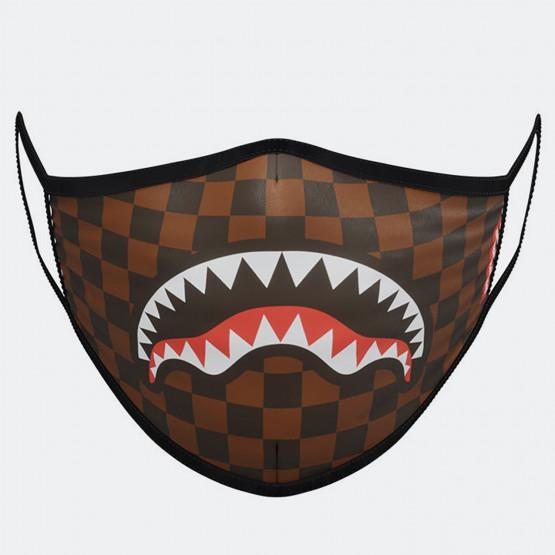 Sprayground Sharks In Paris Brown Fashion Mask - Μάσκα Προσώπου