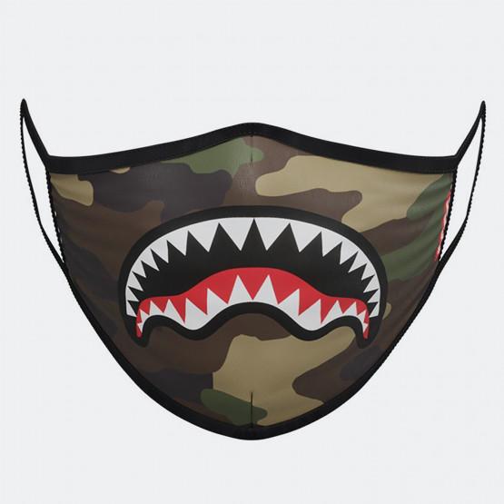 Sprayground Camo Sharkmouth Fashion Mask - Μάσκα Προσώπου