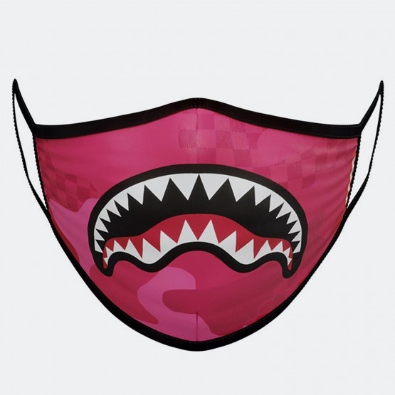 Sprayground Pink Anime Camo Fashion Mask