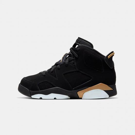 "Jordan Air 6 Retro ""DMP"" Kids' Shoes"