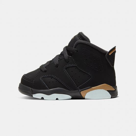"""Jordan Air 6 Retro """"DMP"""" Toddlers Basketball Shoes"""