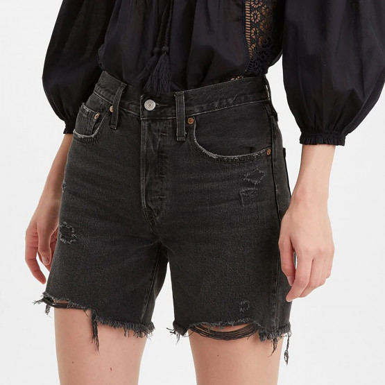 Levis 501 Mid Thigh Short Bees Knees Woman Shorts