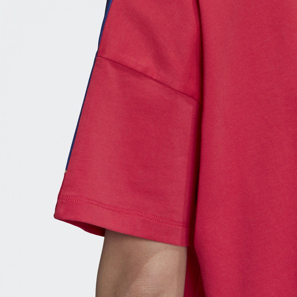 adidas Originals Adicolor Large Logo T-Shirt Γυναικεία Μπλούζα