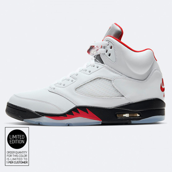 "Air Jordan Retro 5 ""fire Red"" Men's Shoes"