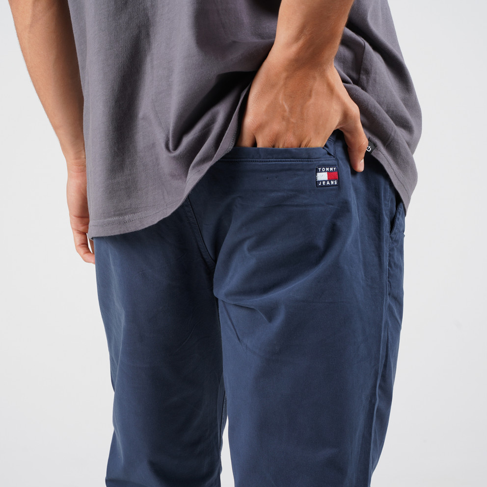 Tommy Jeans Tapered Belted Pant Ανδρικό Παντελόνι