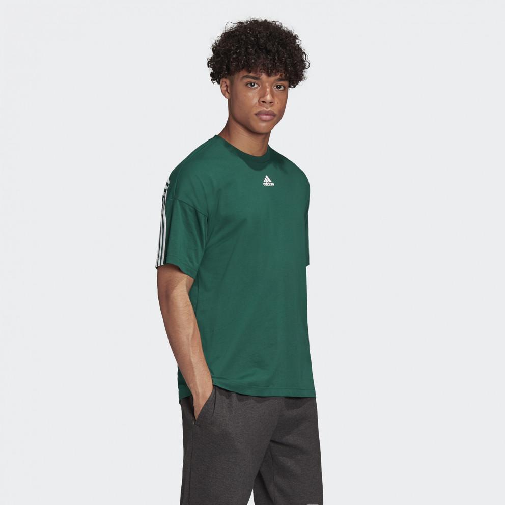 adidas Performance Must Haves 3-Stripes Ανδρικό Μπλουζάκι