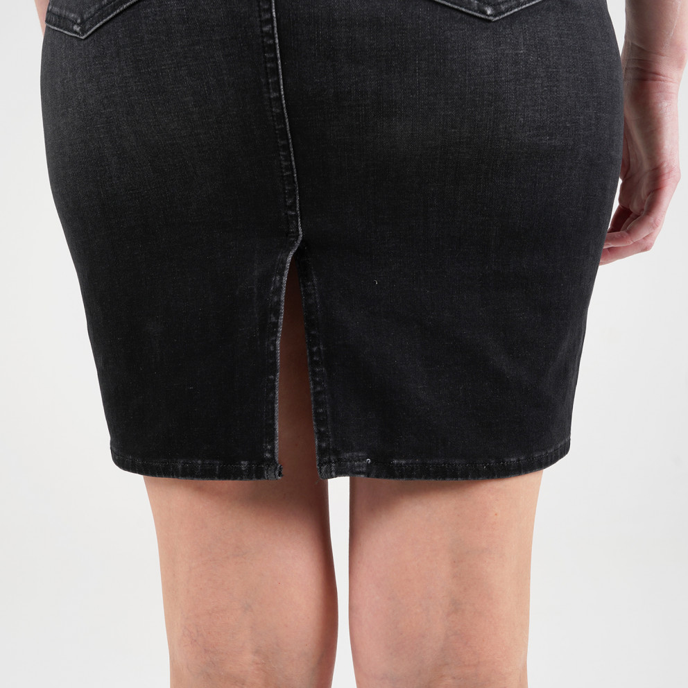 Tommy Jeans Ψιλόμεση Denim Φούστα