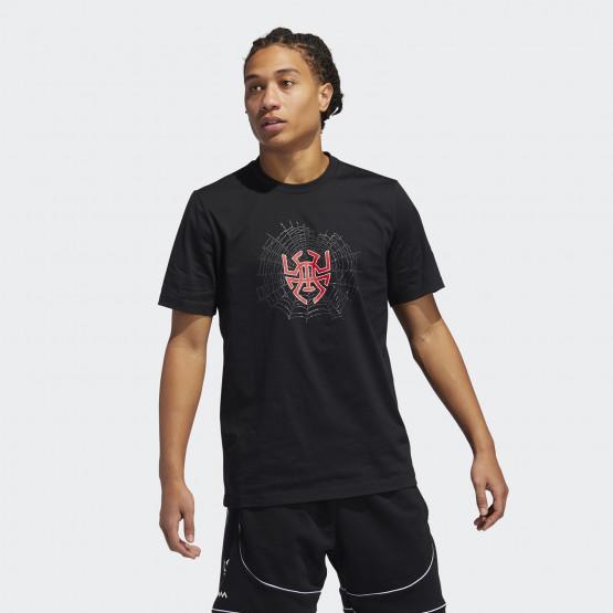 adidas Performance Donovan Logo Ανδρική Μπλούζα Για Μπάσκετ